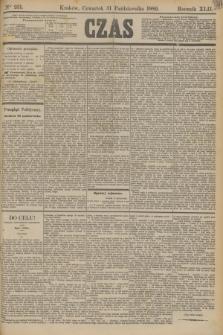 Czas. R.42, Ner 251 (31 października 1889)