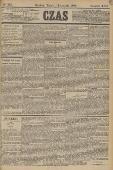 Czas. R.42, Ner 252 (1 listopada 1889)