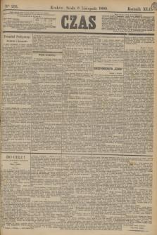 Czas. R.42, Ner 255 (6 listopada 1889)