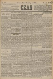 Czas. R.42, Ner 257 (8 listopada 1889)