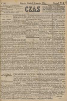 Czas. R.42, Ner 258 (9 listopada 1889)