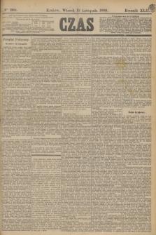 Czas. R.42, Ner 260 (12 listopada 1889)