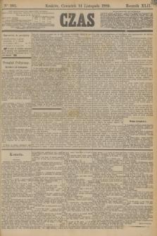 Czas. R.42, Ner 262 (14 listopada 1889)