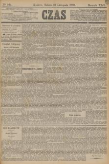 Czas. R.42, Ner 264 (16 listopada 1889) + dod.