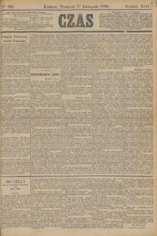Czas. R.42, Ner 265 (17 listopada 1889)