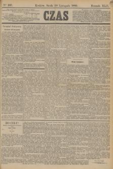 Czas. R.42, Ner 267 (20 listopada 1889)