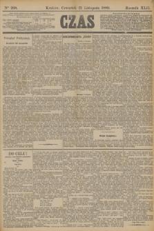 Czas. R.42, Ner 268 (21 listopada 1889)