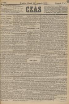 Czas. R.42, Ner 269 (22 listopada 1889)