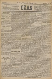 Czas. R.42, Ner 278 (3 grudnia 1889)