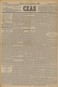 Czas. R.42, Ner 279 (4 grudnia 1889)