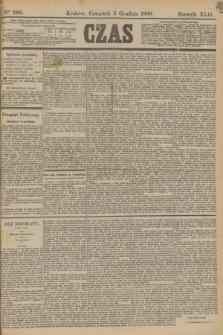 Czas. R.42, Ner 280 (5 grudnia 1889)