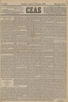 Czas. R.42, Ner 282 (7 grudnia 1889)