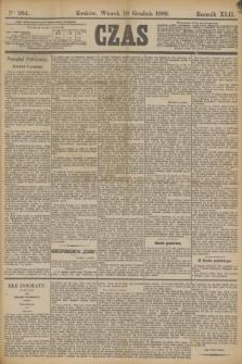 Czas. R.42, Ner 284 (10 grudnia 1889)