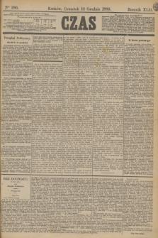 Czas. R.42, Ner 286 (12 grudnia 1889)