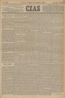Czas. R.42, Ner 287 (13 grudnia 1889)