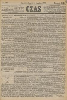 Czas. R.42, Ner 288 (14 grudnia 1889)