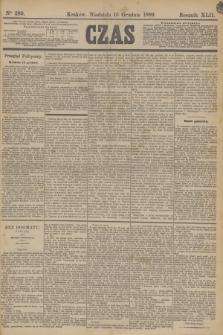 Czas. R.42, Ner 289 (15 grudnia 1889) + dod.