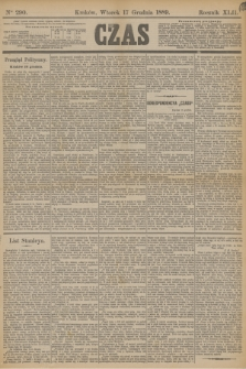 Czas. R.42, Ner 290 (17 grudnia 1889)