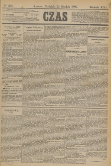 Czas. R.42, Ner 295 (22 grudnia 1889)