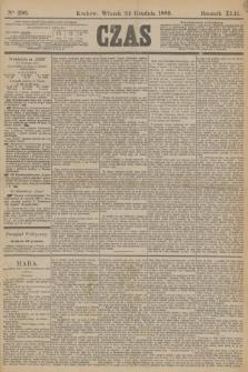 Czas. R.42, Ner 296 (24 grudnia 1889)