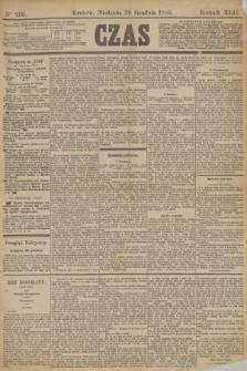 Czas. R.42, Ner 299 (29 grudnia 1889)