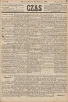 Czas. R.44, Ner 221 (29 września 1891)