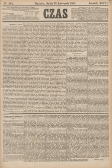 Czas. R.44, Ner 264 (18 listopada 1891)
