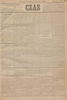 Czas. R.46, Ner 4 (5 stycznia 1893)