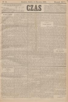 Czas. R.46, Ner 11 (14 stycznia 1893)