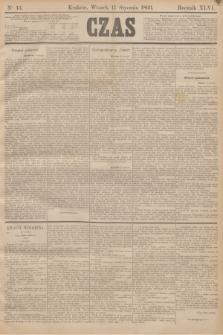 Czas. R.46, Ner 13 (17 stycznia 1893)