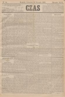 Czas. R.46, Ner 15 (19 stycznia 1893)