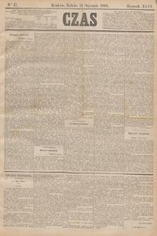 Czas. R.46, Ner 17 (21 stycznia 1893)