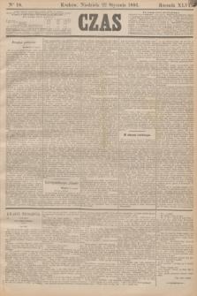 Czas. R.46, Ner 18 (22 stycznia 1893)