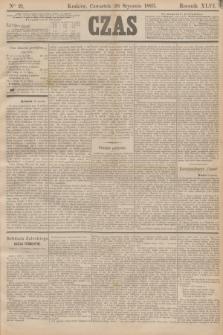 Czas. R.46, Ner 21 (26 stycznia 1893)