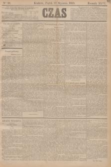 Czas. R.46, Ner 22 (27 stycznia 1893)
