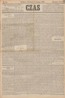 Czas. R.46, Ner 29 (5 lutego 1893)