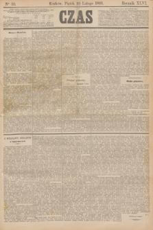 Czas. R.46, Ner 33 (10 lutego 1893)