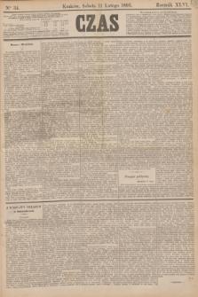 Czas. R.46, Ner 34 (11 lutego 1893)