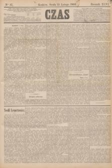 Czas. R.46, Ner 37 (15 lutego 1893)