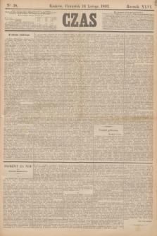 Czas. R.46, Ner 38 (16 lutego 1893)