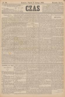 Czas. R.46, Ner 39 (17 lutego 1893)