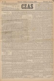 Czas. R.46, Ner 40 (18 lutego 1893)