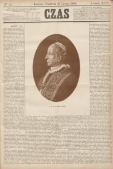 Czas. R.46, Ner 41 (19 lutego 1893)
