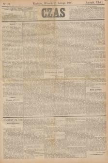 Czas. R.46, Ner 42 (21 lutego 1893)