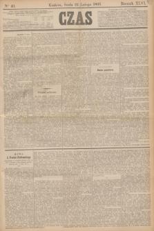 Czas. R.46, Ner 43 (22 lutego 1893)