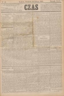 Czas. R.46, Ner 47 (26 lutego 1893)