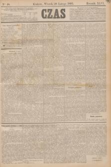 Czas. R.46, Ner 48 (28 lutego 1893)