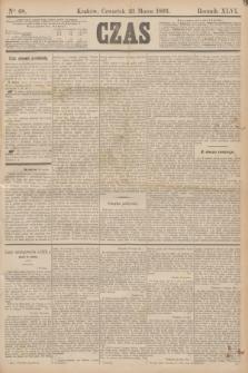 Czas. R.46, Ner 68 (23 marca 1893)