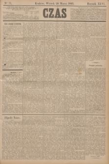Czas. R.46, Ner 71 (28 marca 1893)