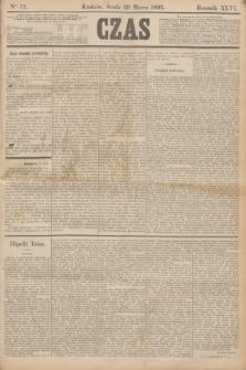 Czas. R.46, Ner 72 (29 marca 1893)